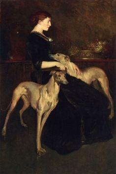 Anna Palmer Draper, 1888  John White Alexander