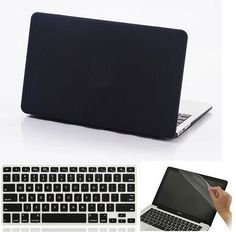[Visit to Buy] Crystal Clear Matte Rubberized Hard Case Cover For Macbook Air 11 13 Pro 13 15 Retina 12 13 15 inch Laptop bag Macbook Air Cover, Macbook Air 11, Buy Crystals, Laptop Accessories, Laptop Bag, Stuff To Buy, Bags, Slipcovers, Accessories