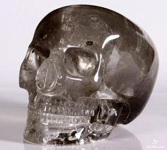 Oh, if I had the money.  Smokey Quartz Rock Mitchell-Hedges Crystal Skull Replica