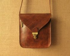Tan Brown Leather Messenger Bag Handmade Women's Cross | Etsy Brown Leather Messenger Bag, Leather Crossbody Bag, Leather Shoulder Bag, Leather Backpack, Leather Bag, Leather Furniture Repair, Hunter Brown, Travel Messenger Bag, Crossover Bags