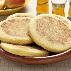 Make Moroccan Harcha, a Semolina Pan-Fried Flatbread Fried Cornbread, Real Food Recipes, Cooking Recipes, Flatbread Recipes, Indian Dishes, Moroccan Dishes, Moroccan Recipes, A Food, Sweets