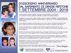 Blog di Informazione - Cerchiamo Denise       www.cerchiamodenise.it  ♥: PIERA MAGGIO: 12 ANNI SENZA MIA FIGLIA!