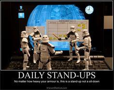 Leva menos de 5 minutos: Aprenda a fazer uma #reunião diária #eficiente! http://ow.ly/pUZwA