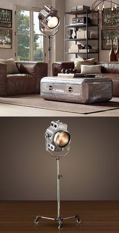 1940´s Hollywood Studio Floor Lamp