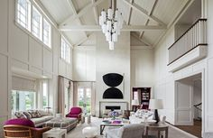 Interesting ceiling details take a home to the next level. Browse 24 stunning rooms with cathedral ceilings and get inspired by how this architectural element adds depth to spaces ranging from living rooms to bedrooms.