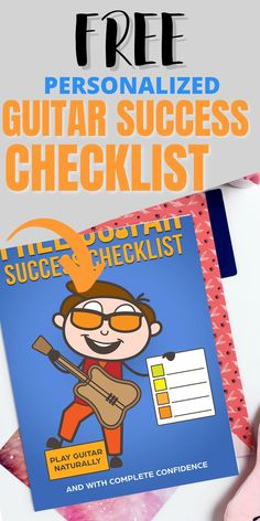 Are you trying to learn guitar, but struggling with figuring out exactly what you should learn next? My FREE personalized guitar checklist will give you step-by-step instructions on exactly what you should learn. This 5 minute quiz could save you months of time. If you are a beginner, I will give you the steps that you need to begin playing guitar successfully. If you have already been playing guitar, I will give you a plan to make your guitar playing even better! Play Guitar Chords, Learn Acoustic Guitar, Guitar Chords Beginner, Jazz Guitar, Guitar Songs, Guitar Notes Chart, Learning Music, Fingerstyle Guitar, Music Words