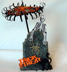 Distress Halloween Headstones - Ranger Ink