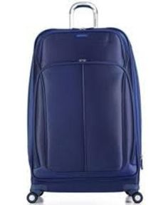 """SAMSONITE XSPACE X SPACE 30"""" EXPANDABLE SPINNER BLUE TRAVEL LUGGAGE SUITCASE NEW"""