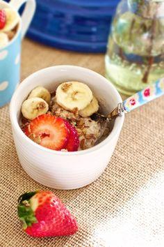 Strawberry banana bake recipe