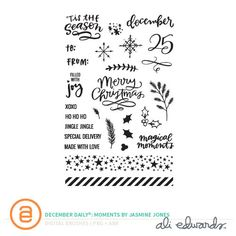 Picture 1 of December Daily® Digital Stamp: Moments by Jasmine Jones