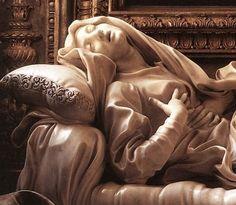 Gian Lorenzo Bernini's Beata Ludovica Albertoni, Church of San Francesco a Ripa in Trastevere, Rome.