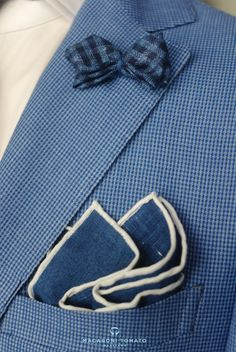 I love. Pocket square and a nice Lapel pin