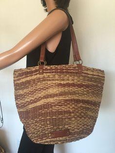 Lucky Brand Straw Sisal Bag Tote Designer Fashion Hip Boho #LuckyBrand #TotesShoppers