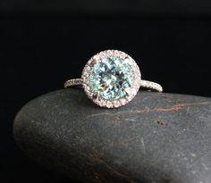 Aquamarine ring. I want this so badly!!