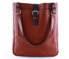 this leather bag is gorgeous!