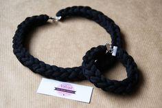 Le Galon: collares y pulseras de trapillo trenzado