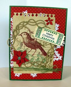 My Card for the Christmas in July Challenge