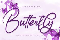 Butterfly is a stylish and incredibly elegant script font. It looks stunning on wedding invitations, thank you cards, quotes, greeting... Apple Mac, Invitation Fonts, Wedding Invitations, Linux, Classy Fonts, Elegant Fonts, Feminine Fonts, Commercial Fonts