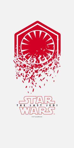 Star Wars - The Last Jedi - OnePlus Wallpaper Iphone Wallpaper Stars, Star Wars Wallpaper, Cellphone Wallpaper, Hd Wallpaper, Star Wars Icons, Star Wars Poster, Star Wars Fan Art, Star Wars Jedi, Star Trek