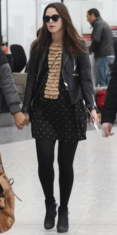 The Best Celebrity Maternity Street Style Looks - Keira Knightley, February 2015 from #InStyle