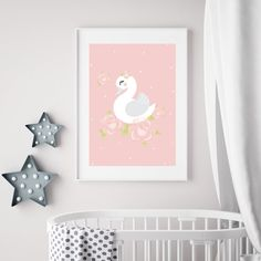The Swan is printed on high-quality paper. Simply add a frame or magnetic sticks. Swan, Range, Paper, Prints, Home Decor, Art Paintings, Swans, Cookers, Decoration Home