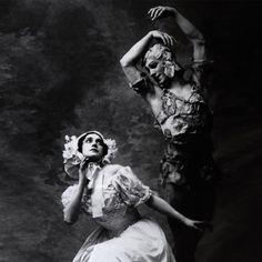 NININSKY PHOTOGRAPHER:BARON ADOLF DE MEYER