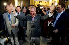 We — the young, optimistic millions across Europe — cannot lose the West to to demagogues. This Op-Ed explains, angry old men will not be mollified. While the Brexit vote feels momentous, but it is merely the first in a series of fights for the soul of Europe. (Photograph of Nigel Farage: Matt Dunham/Associated Press)