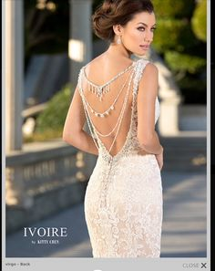 Show-stopping back pieces available at our store. Say hello to Virgo ♍️ Visit us online or call us to book your appointment. #arletbridal #arletbridalcouture #bridal #wedding #weddingdress #weddinggown #weddingday #accessories #weddingaccessories #jewelry #weddingjewelry #weddinginspo #weddinginspiration #kittychen #kittychenaccessories #virgo
