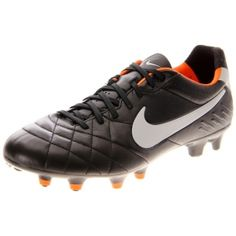Mens Nike Tiempo Legend IV Soccer Cleats Black Leather - ONLY $154.99