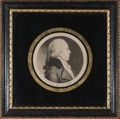 CHARLES B.J.F. DE SAINT-MEMIN (FRENCH 1770-1852). MINIATURE PROFILE PORTRAIT ENGRAVING OF JOHN BOHLEN (1766-1850), PHILADELPHIA. | Northeast Auctions