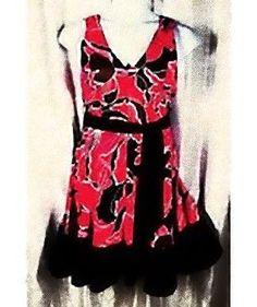 Jones Wear Dress 12 Sleeveless Multi-Color Summer/Beach Sundress