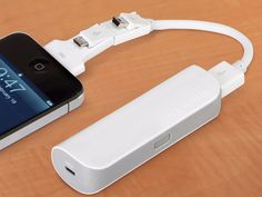 Cordless Pocket iPhone and USB Charger