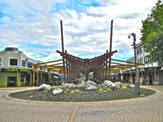 Rotorua NZ Rotorua New Zealand, Pergola, Fair Grounds, Outdoor Structures, Travel, Trips, Viajes, Traveling, Arbors