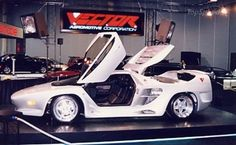 Vector Avtech WX3 - The intended engine for WX-3 was to have more than 1000 horsepower. But this engine was never completed so under the hood you will see a aluminum alloy 7.0-liter V-8 engine. This beast pumps out 800+ pound-feet of torque at 4900 rpm. Vector claims that the WX3 has a maximum of 650 horsepower. The chassis of the WX3 is made of a carbon fiber, epoxy composite, nomex honeycomb core.