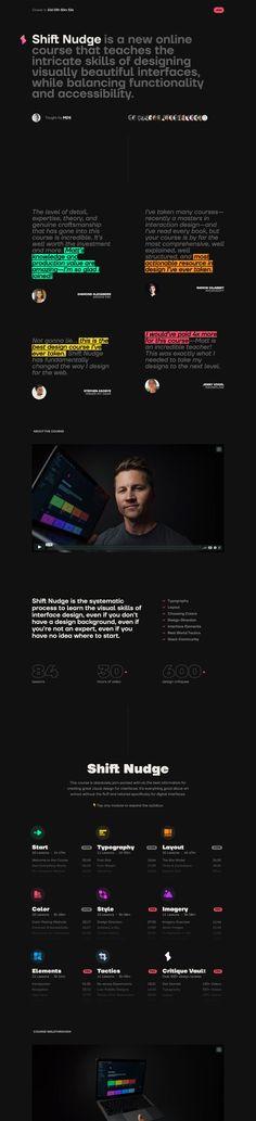One Page Website, Website Layout, Creative Web Design, Ui Design, Countdown Timer, Landing Page Design, First Page, Graphic Design Tutorials, News Online