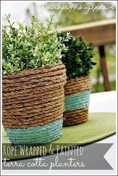 Diy Crafts Ideas : Planter Ideas for Your Garden