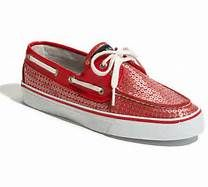 Red Sequin Sperry's - Bing Images