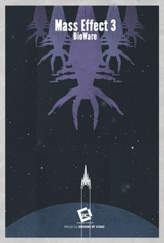 Mass Effect 3 Minimal Poster by ~Chadski51 on deviantART
