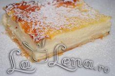 Placinta cu iaurt Yogurt Pie, Food To Make, Fondant, Bakery, Cheesecake, Deserts, Dessert Recipes, Sweets, Snacks