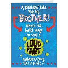 funny birthday cards for brother pumpylalcom funny