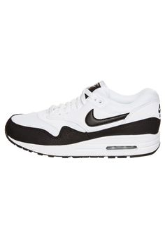 best website fed48 7be8e Nike Sportswear - AIR MAX 1 ESSENTIAL - Sneaker - white black