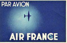 1934 airline ticket