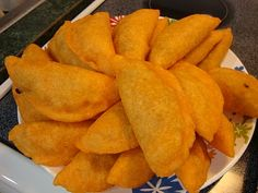 Colombian empanadas are oh so good! easy to make too!