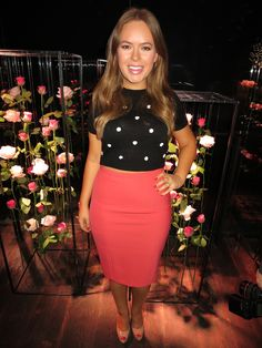 Tanya Burr's Spring Fashion Show Outfit Love Fashion, Spring Fashion, Fashion Beauty, Fashion Show, Fashion Outfits, Dressy Outfits, Cute Outfits, Tanya Burr, Lily Collins