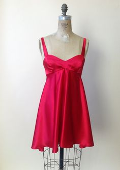 I'm pretty sure this is every homecoming dress that I never had in the 90's. It just needs Docs and a mini backpack.