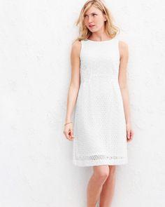 Lace Sheath Dress - Garnet Hill