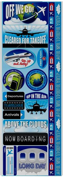 Travel & Vacation > Air Travel Die Cut Cardstock Stickers - Reminisce: A Cherry On Top