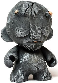 """'Der Golem' by Squink is a 4"""" #munny commission."""