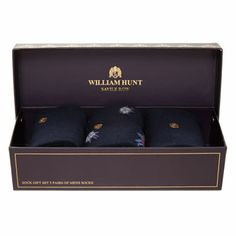 William Hunt Boxed Sock Gift Set