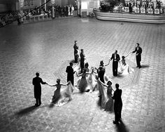 1949  Dancing competition, Tower Ballroom, New Brighton 1949